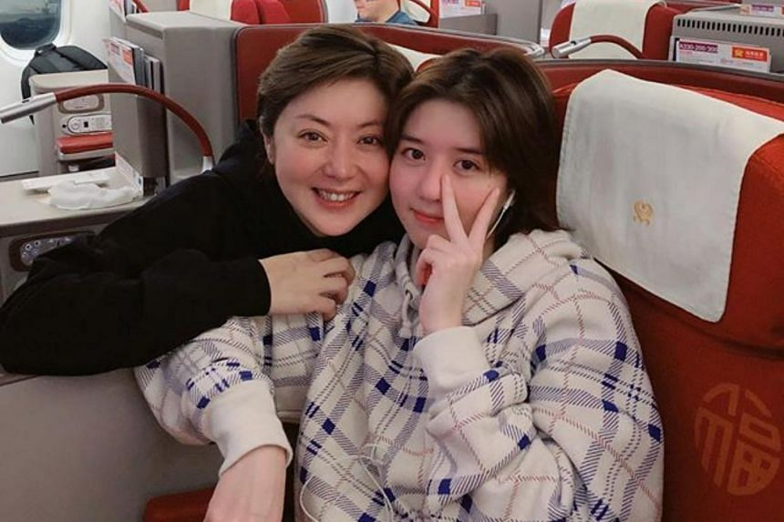 While TV host Quan Yifeng (left) may project a tough-as-nails persona, her daughter, Eleanor Lee, said the woman out of the public eye is, like any human, subject to bouts of emotional turbulence.
