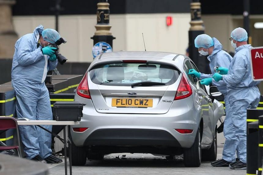 A jury found that Salih Khater deliberately tried to plough his car into cyclists, pedestrians and police in Westminster in August 2018.