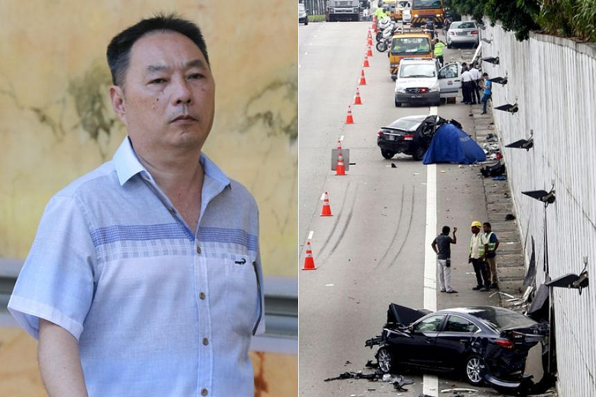 """Businessman Lim Chai Heng told an Institute of Mental Health psychiatrist that when he saw cars and motorcycles coming towards him, he """"knew finished already"""" and that """"if not others hit (him), (he) will hit others""""."""