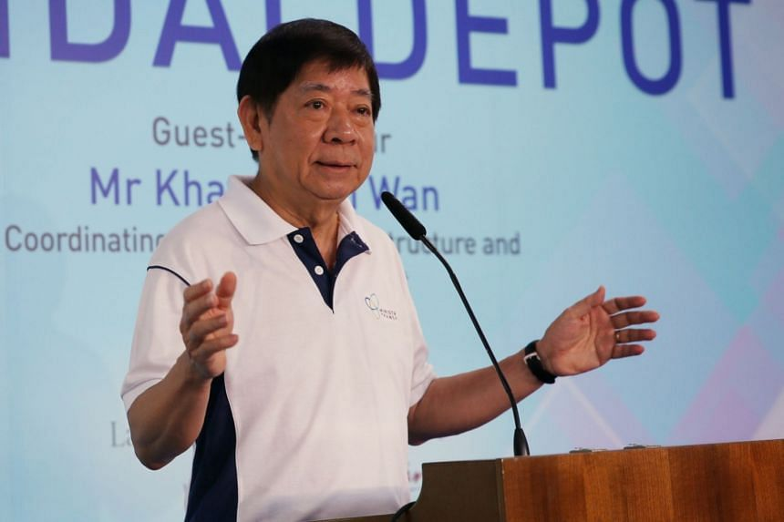 Transport Minister Khaw Boon Wan was speaking at the 8th Joint Forum on Infrastructure Maintenance on Oct 14. The moves by Siemens and Alstom come in the wake of Thales setting up a facility at the Bishan MRT depot.