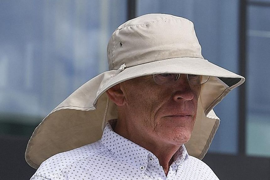 Mr David Eastman said he not only lost the opportunity to have a family and pursue his career but also saw his mother and sisters die while he was behind bars. PHOTO: EPA-EFE