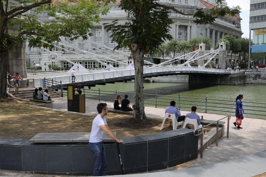 The National Heritage Board has gazetted three Singapore River bridges - Cavenagh (pictured), Anderson and Elgin bridges - as national monuments.