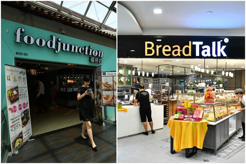 The proposed transaction would see BreadTalk's subsidiary, Topwin Investment Holding, acquire foodcourt operator Food Junction for $80 million.
