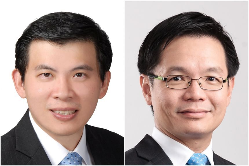 Mr Lee Seow Hiang (left) will be the National Library Board's (NLB) new chairman from January, while Mr Ng Cher Pong will be NLB's new CEO from December.