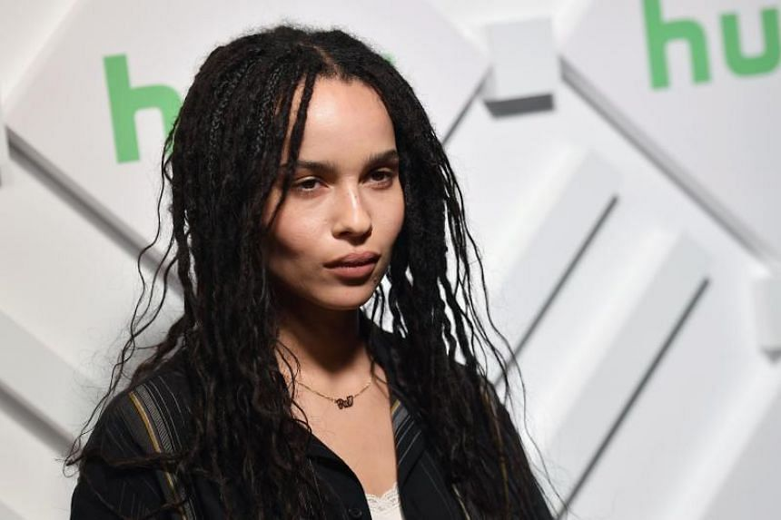 Zoe Kravitz at an event in New York City on May 1, 2019. She will portray the whip-wielding cat burglar who is both Batman's foe and love interest in the comics.