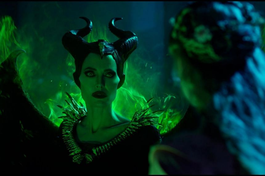 Still from the movie Maleficent: Mistress Of Evil, starring Angelina Jolie.