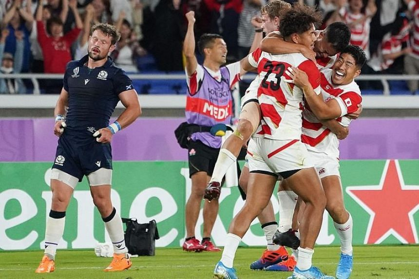 Image result for Rugby: World Cup quarter-finalists Japan toast Brave Blossoms coach Joseph