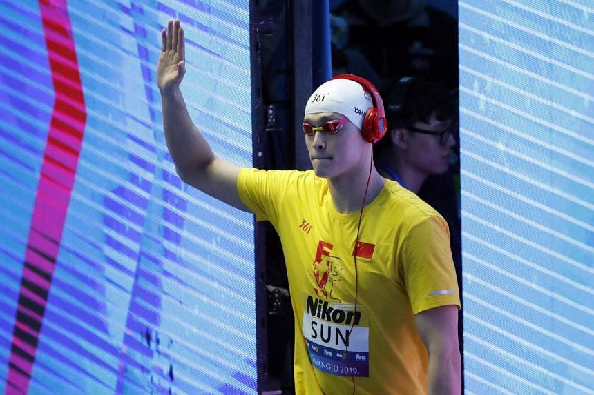 Sun Yang questioned the credentials of the testers before members of his entourage smashed the vials containing his blood samples with a hammer.