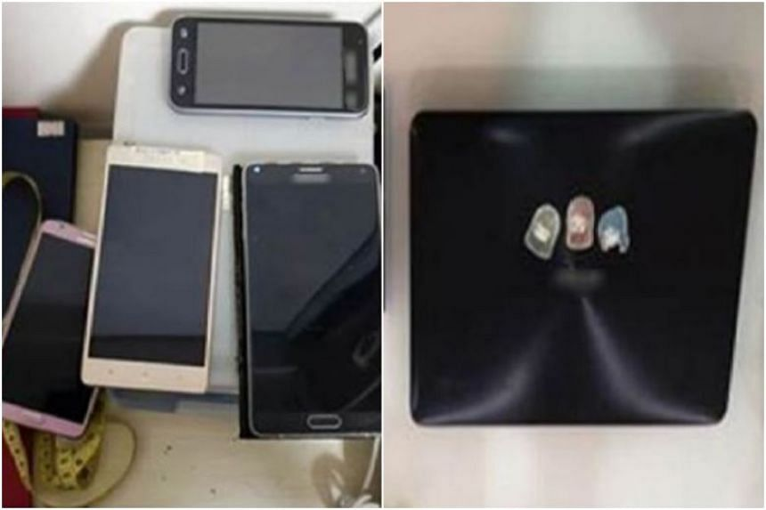 More than 10 electronic devices, including a central processing unit, a laptop, a hard disk and several mobile phones, were seized as case exhibits.
