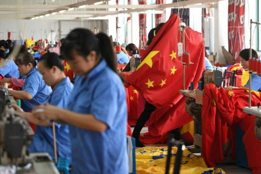 Some analysts expect China's overall economic growth rate to slip below the government's 6.0-6.5 per cent target range this year.
