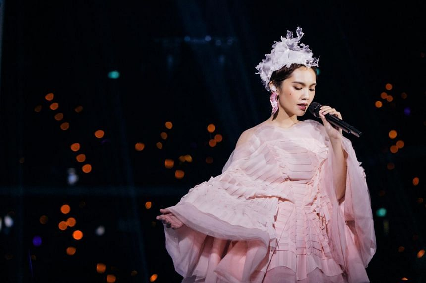 Taiwanese actress-singer hopes to showcase more aspects of herself at her Singapore gig at The Star Theatre on Nov 9, as she had given creative input for various aspects of the show.