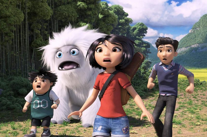 """The Dreamworks' movie Abominable features China's controversial """"nine-dash line"""" map, which shows Beijing's territorial claims in the contested waters. Vietnam has already ordered the movie pulled from cinemas because of the scene."""