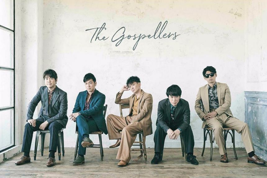 The Gospellers are a Japanese vocal group formed in 1991 with members who were part of Waseda University's a cappella club, Street Corner Symphony.