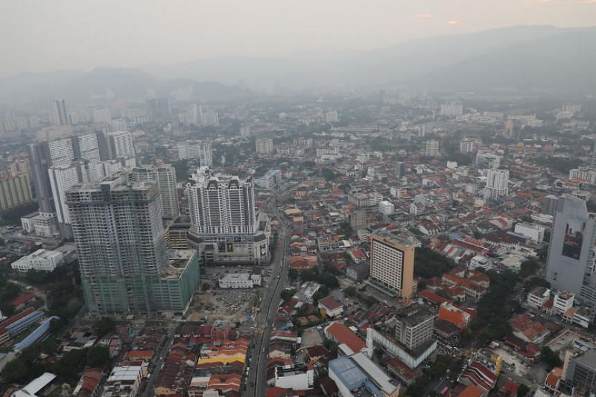 A view of the Penang skyline on Sept 20, 2019.