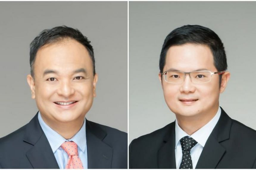 Gilbert Pak (left) has joined Tokio Marine Life Insurance Singapore as chief marketing officer while Michael Kuek has joined the firm as chief and appointed actuary.