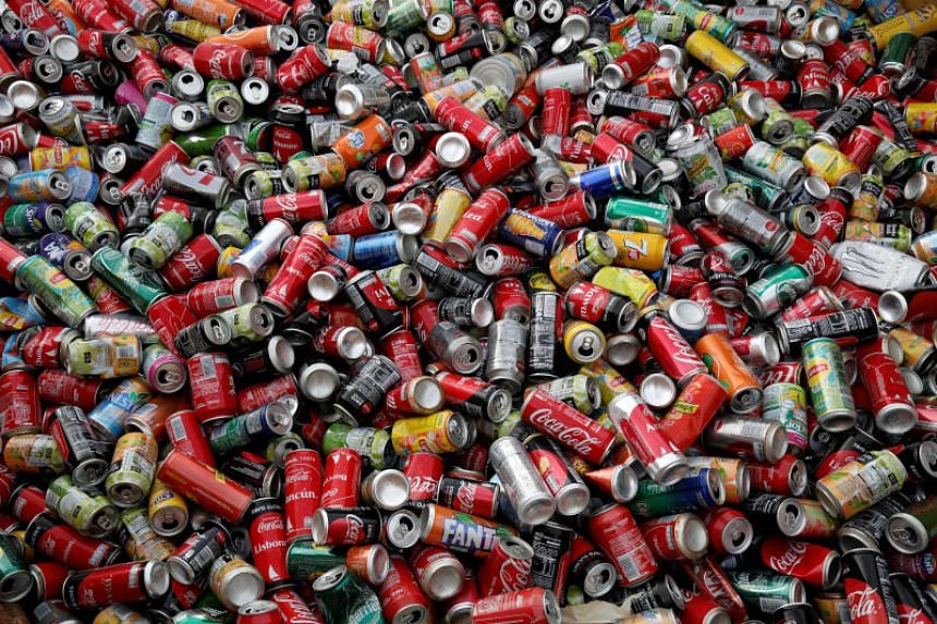 Aluminium cans might indeed mean less ocean waste, but they come with their own eco-price: the production of each can pumps about twice as much carbon into the atmosphere as each plastic bottle.