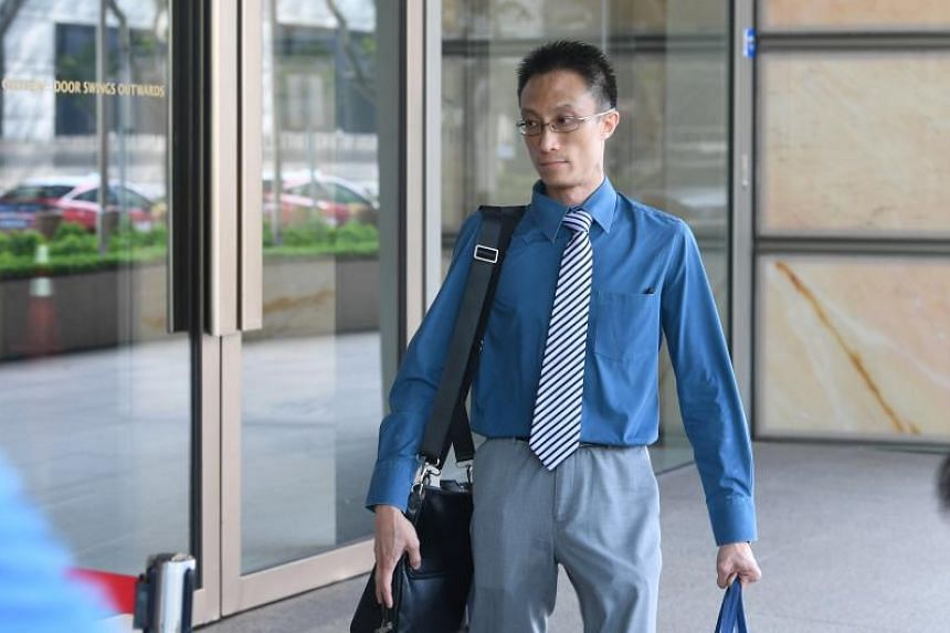 A photo taken on March 11 shows Ler Teck Siang arriving at the High Court. Ler was on Oct 17 found guilty by a district judge of injecting drug abusers for a fee and for possessing drug utensils.