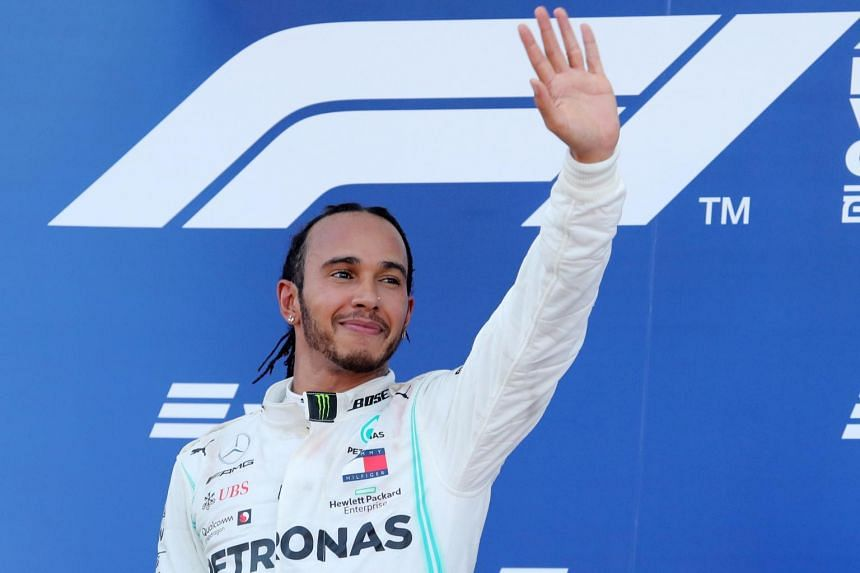 """Lewis Hamilton declared on Instagram that he worried about the """"extinction of our race"""" if humans keep eating animals."""