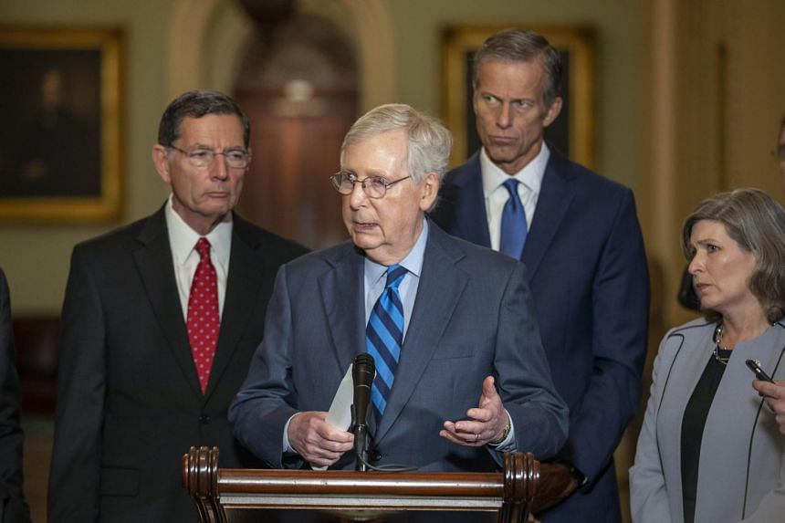 Majority Leader Mitch McConnell said the Senate would likely meet six days a week during the trial.