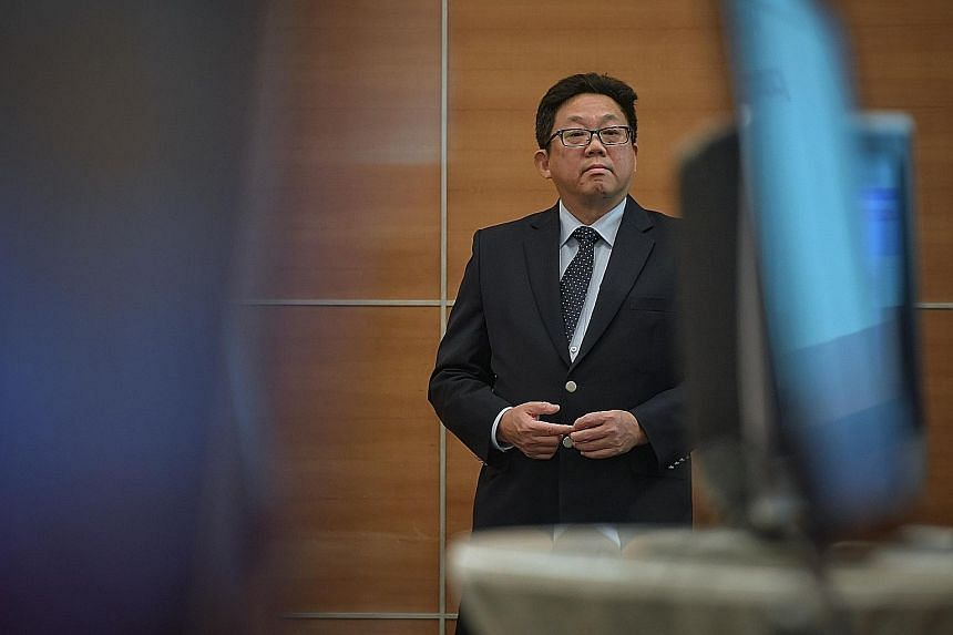 CEO Ng Yat Chung says the restructuring will enable SPH to deliver more effective integrated solutions across various media platforms. ST FILE PHOTO