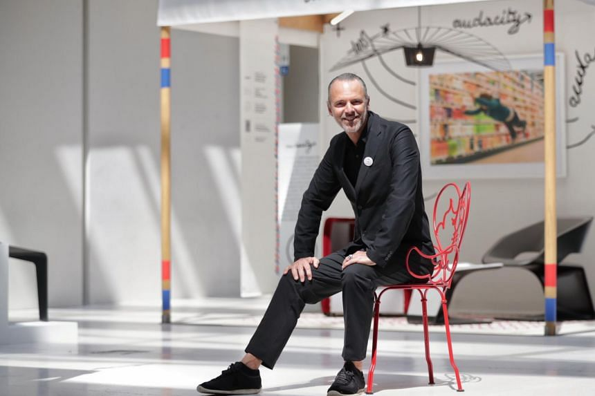 """Mr Jean-Paul Bath says """"French design has found a place for itself here in Singapore."""""""