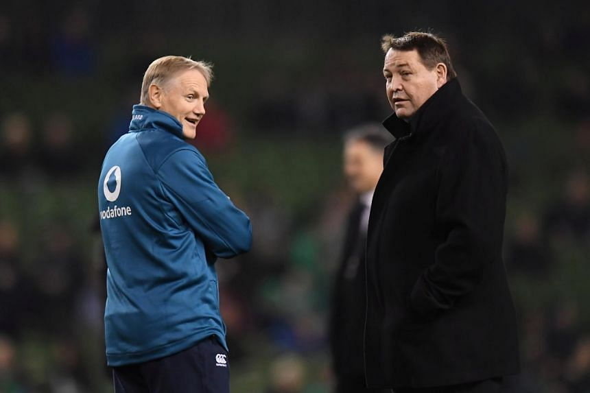 Both Steve Hansen and Joe Schmidt are stepping down from their respective roles at the conclusion of their team's involvement in the tournament in Japan.