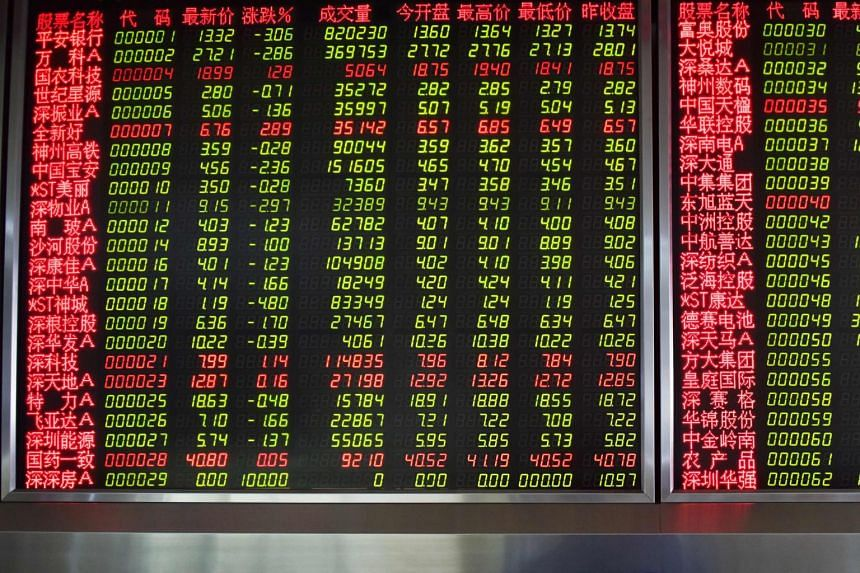 China is in focus in Asia with the world's second-largest economy expected to post its weakest economic growth in at least 27½ years when it releases gross domestic product data.