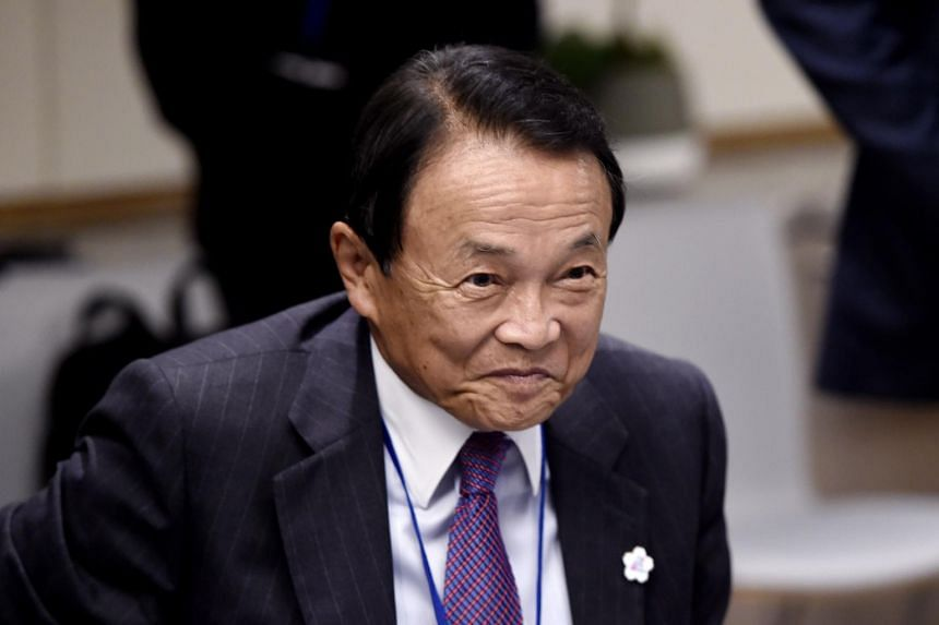 """If we need to compile some form of an economic stimulus package, we are ready to take various types of fiscal measures flexibly,"" said Japanese Finance Minister Taro Aso."