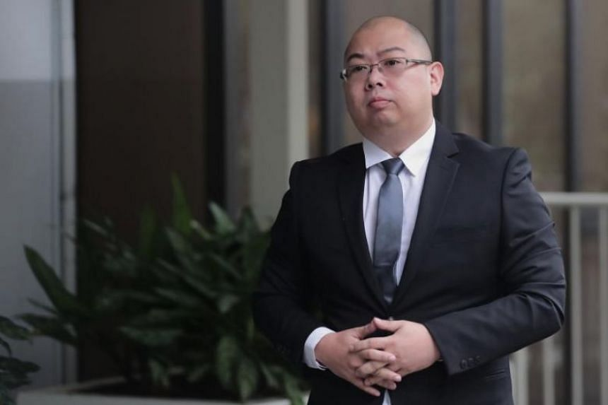 The Online Citizen editor Terry Xu arriving at the State Courts on Dec 13, 2018.