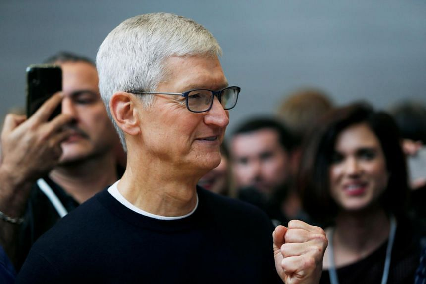 Apple CEO Tim Cook last week defended the decision to remove the app Beijing accused of supporting Hong Kong protesters.