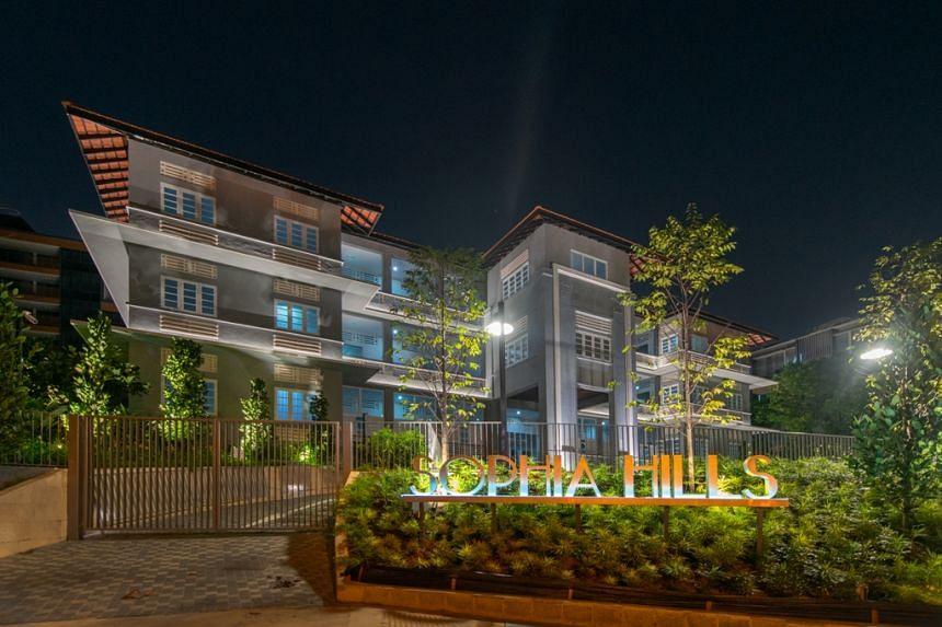 Sophia Hills is the largest development in District 9. PHOTO: SUNWAY DEVELOPMENTS PTE LTD