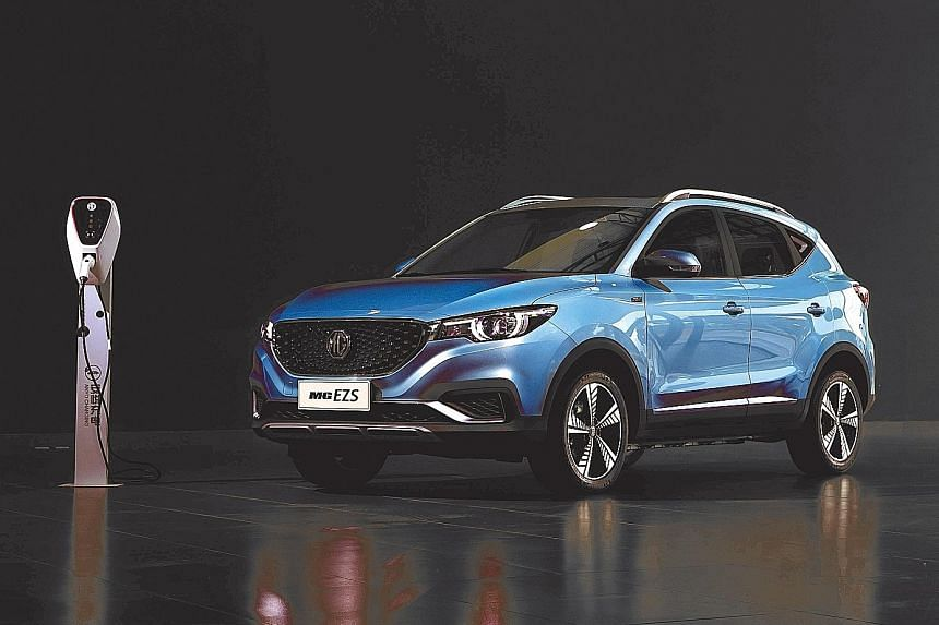 The MG EZS will arrive in December and is expected to cost about $130,000 with COE.