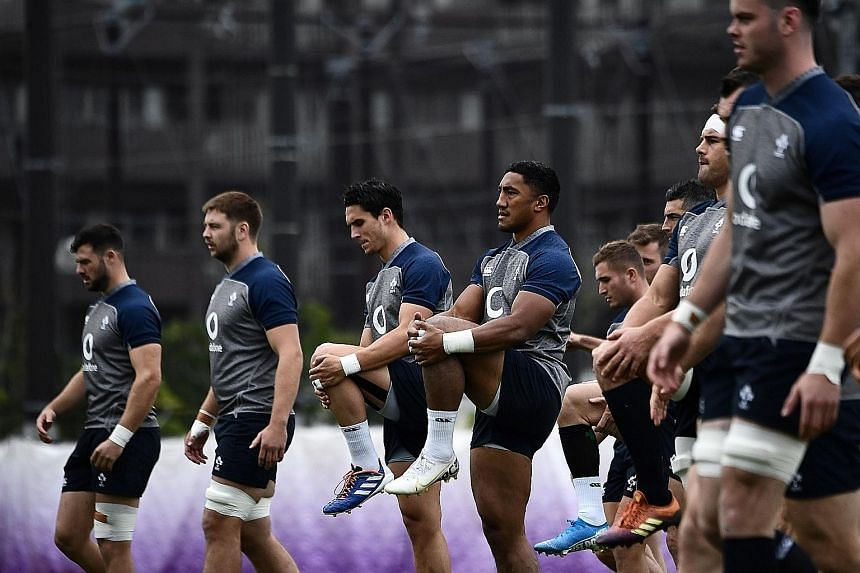 World No. 4 Ireland, who topped the world rankings entering the Rugby World Cup, will attempt to upset two-time defending champions New Zealand. It would be their third win in four matches against the All Blacks.
