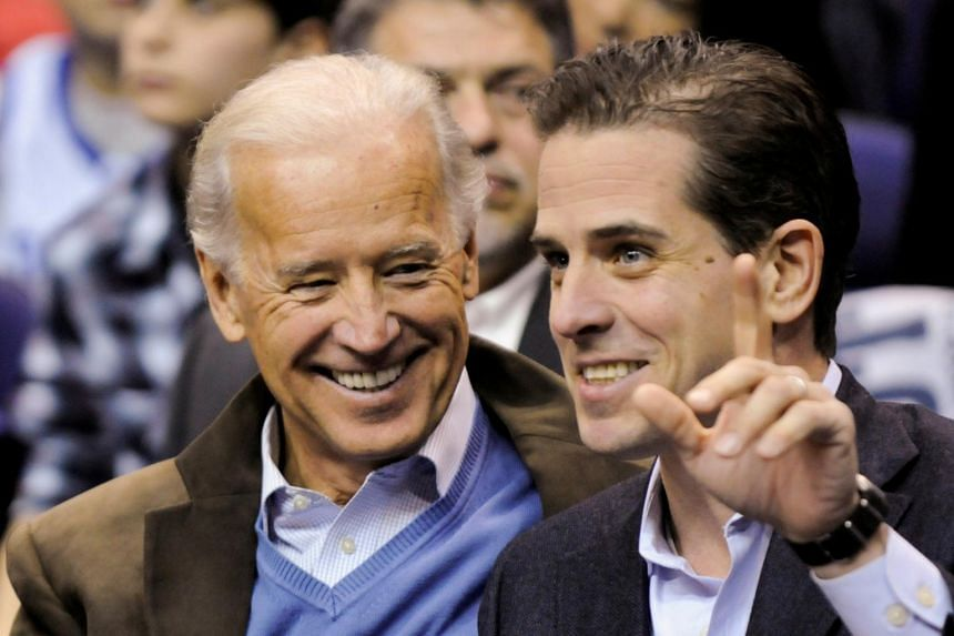 The role of Hunter Biden (right) on the board of Burisma Holdings while his father was in the White House plays into a Democratic-led impeachment inquiry against President Donald Trump in the US House of Representatives.