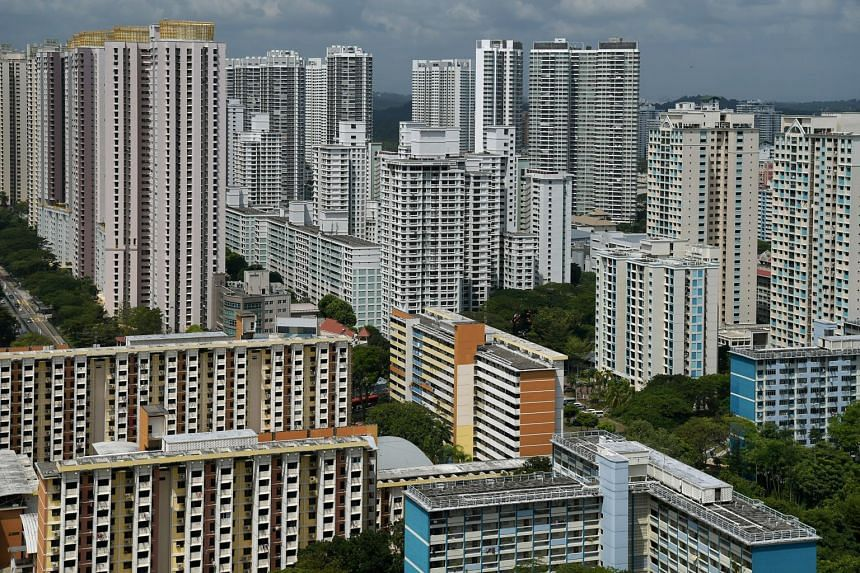 HDB blocks in Toa Payoh.