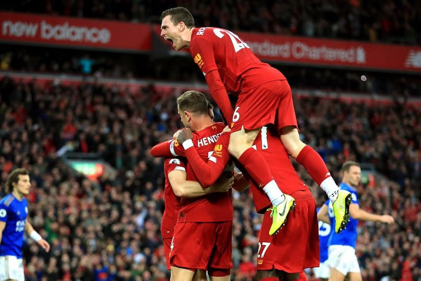 Liverpool's formidable fitness is apparent in the five times they have turned a draw into a win in the last 11 minutes, including the 95th-minute decider against Leicester two weeks ago.