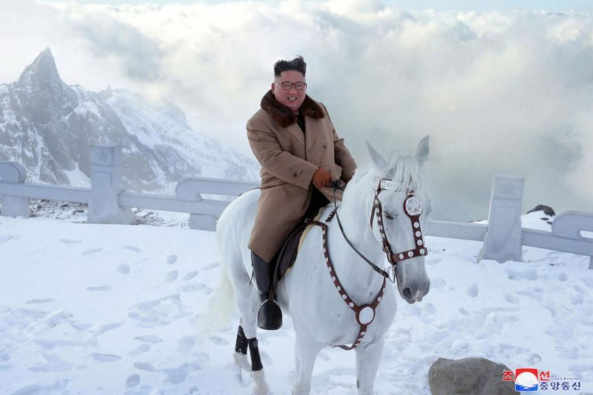 North Korea State Media: Kim's Horse Photos Portend a 'Great Event'
