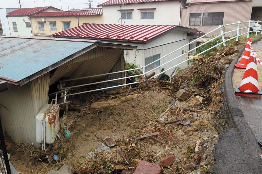 Water supply has not yet resumed to Marumori town, where flooding and 150 landslides killed at least seven people and left at least five missing as of Oct 19, 2019.