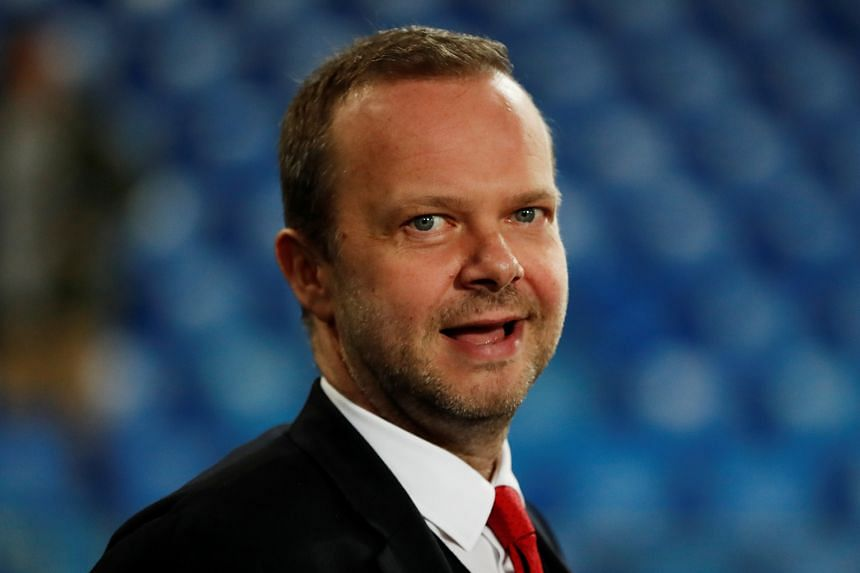 Executive vice-chairman Ed Woodward (above) is pleased that the Norwegian's vision dovetails with the club's three core objectives.