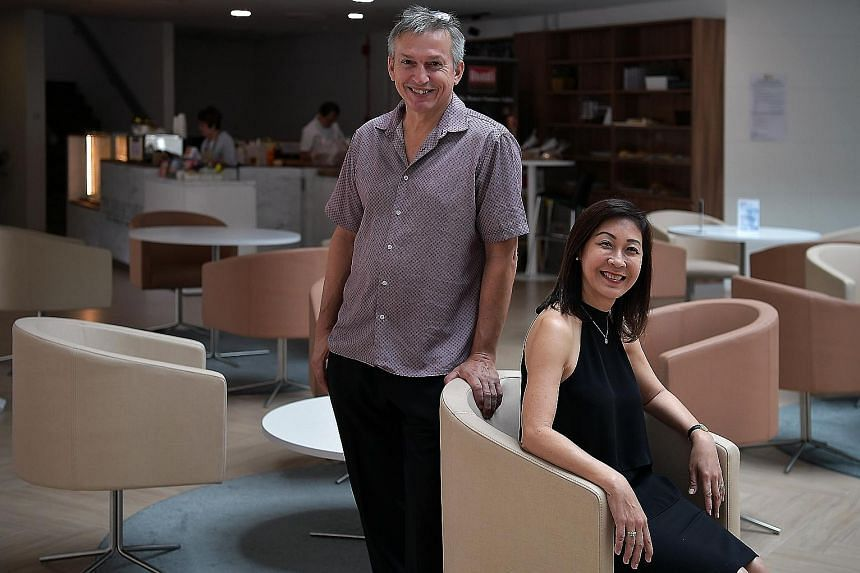 Austrian chef Karl Dobler and Ms Eugenia Ong closed their restaurant Table At 7 in Mohammad Sultan Road in April after its lease expired. Ms Ong says they plan to reopen the restaurant at 41 Namly Avenue next month, focusing more on catering as it ge