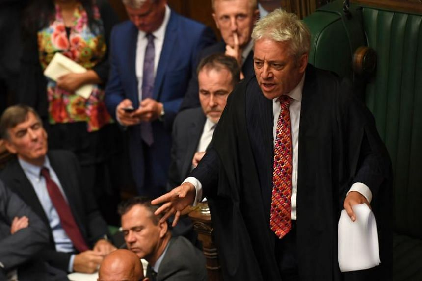Speaker of the House of Commons John Bercow said he would rule on Oct 21 if he will allow the government to put forward a vote on Prime Minister Boris Johnson's Brexit deal.