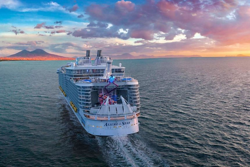 Royal Caribbean said in a statement that the woman and her companion were removed from the ship and had been banned for life.
