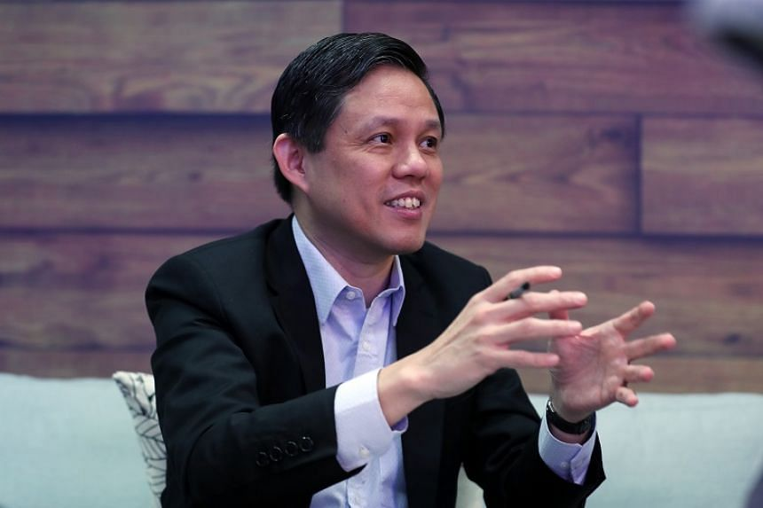 The Government's job is to ensure low barriers to entry so that markets can continue to have potential competition said Trade and Industry Minister Chan Chun Sing.