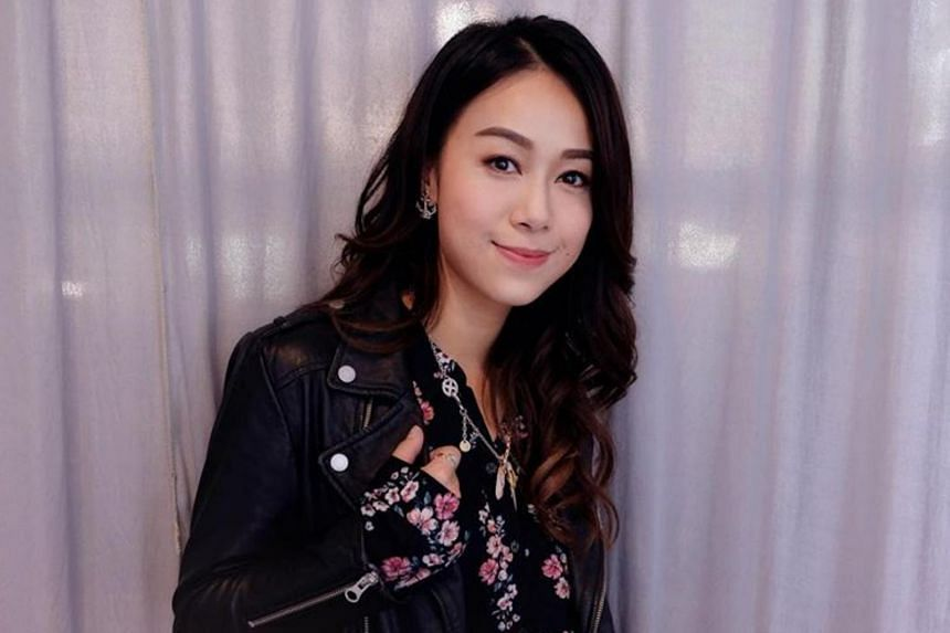 Jacqueline Wong had fled to the US to avoid a public backlash after she was caught kissing singer Andy Hui, husband of Cantopop queen Sammi Cheng, in a taxi in April.