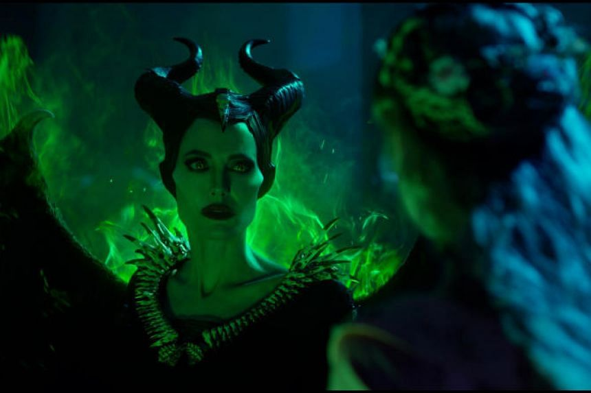 Maleficent: Mistress Of Evil stars Angelina Jolie (left) and Elle Fanning.