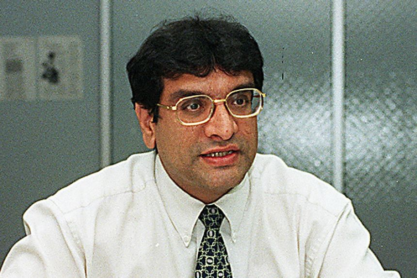The lawyer, Zaminder Singh Gill, in a 1998 photo. Gill allegedly misappropriated $11,000 entrusted to him while working at Hilborne Law.