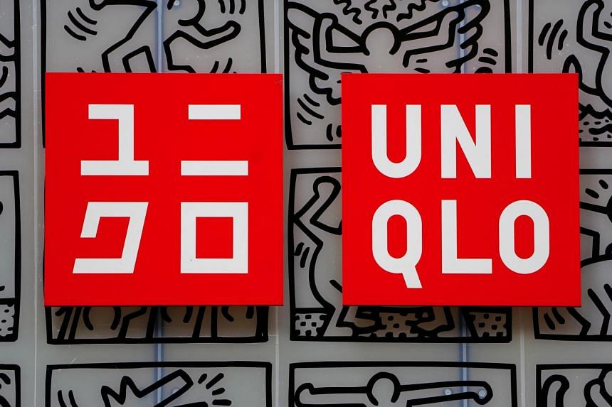 Uniqlo logos seen at a store in New York, on March 19, 2019.