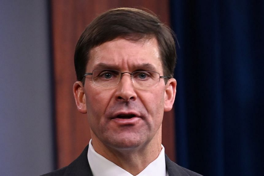 US Defence Secretary Mark Esper says the ceasefire involving Turkey in north-eastern Syria is generally holding.