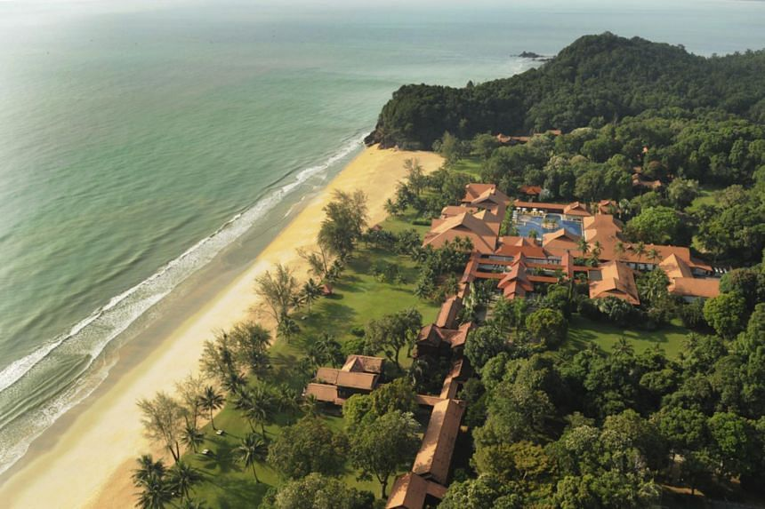Club Med Cherating Beach in Pahang, Malaysia.