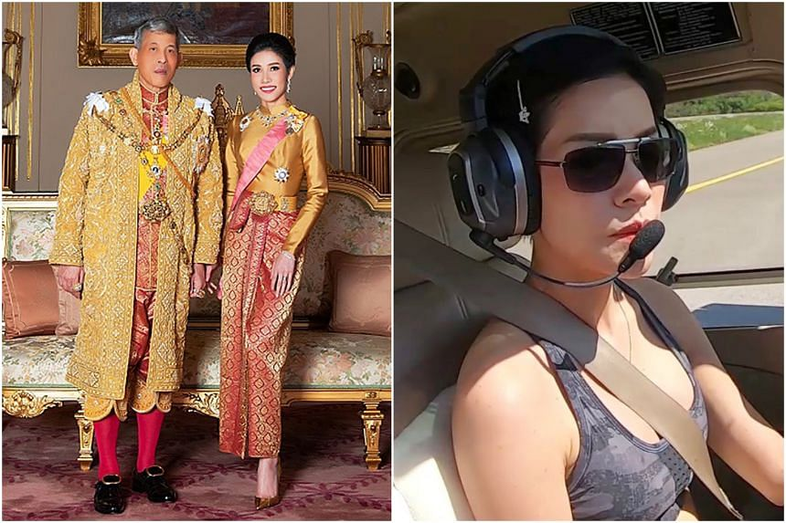 Thai king strips 'disloyal' and 'ungrateful' royal consort of titles, rank